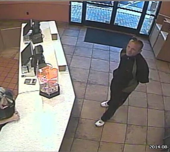 Police say this man robbed the Taco Bell on Hampton Avenue. - SLMPD