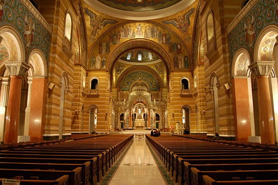 Cathedral Basilica of St. Louis. - PHOTO BY ANDREW BALET