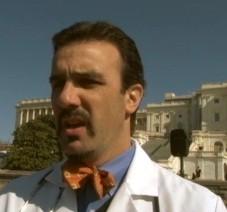 Dr. Aaron Perlut calls on a march on Washington. - ABC NEWS