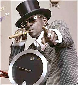 Flava Flav does not approve of violence at Club Flava - IMAGE VIA