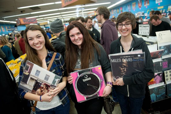 USA Today suggests Vintage Vinyl and Euclid Records for your hipster music needs. - JON GITCHOFF