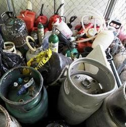 Missouri meth lab materials. - FILE PHOTO