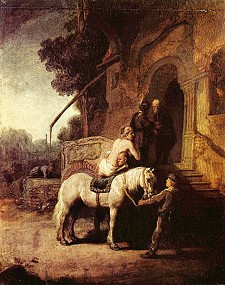 "Rembrandt's ""The Good Samaritan"""
