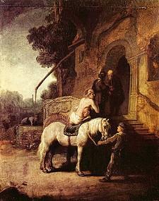 """Rembrandt's """"The Good Samaritan"""""""