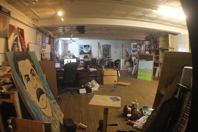 Civil Ape's studio just off Cherokee Street - VIA CIVIL APE