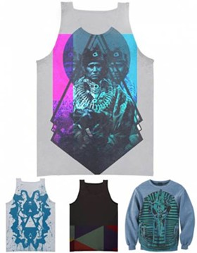 Some designs from 'Live & Let Dye'