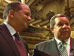 In 2009 CNN pegged Steven (left) and Michael Roberts empire at $1 billion. - CNN.COM