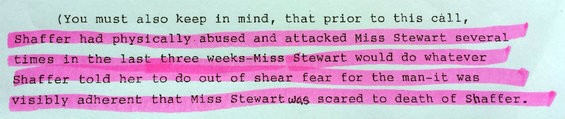 From a 2012 affidavit given by Steven Bradley.
