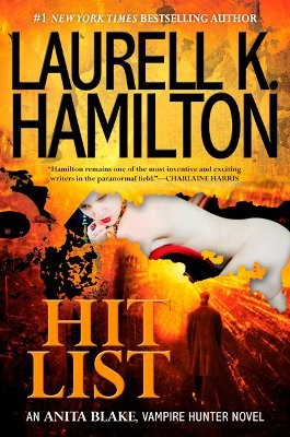 Of course, not all Bouchercon attendees were out-of-towners. Local Laurell K. Hamilton was there, too, with her latest Anita Blake novel.