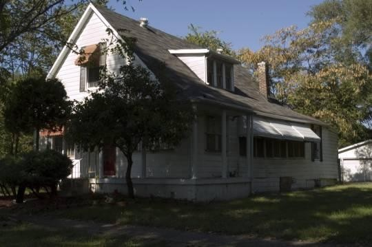 Miles Davis' East St. Louis childhood home in 2009. - ANDREW THEISING