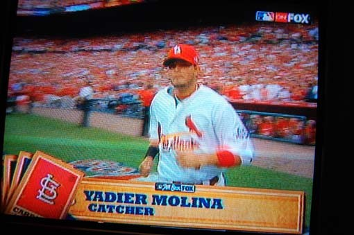 There's Yadier Molina!