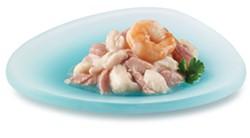"""Fancy Feast's """"Seabass & Shrimp Appetizers in a Delicate Broth"""" - FANCYFEAST.COM/APPETIZERS"""