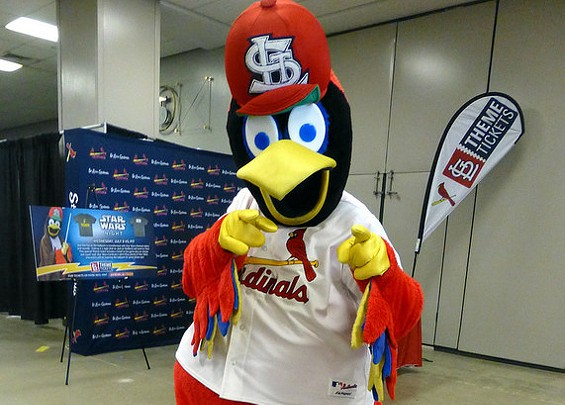 You'll never look at Fredbird the same way again. - GABBOT ON FLICKR, CROPPED