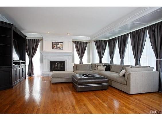 Allen Craig's living room.