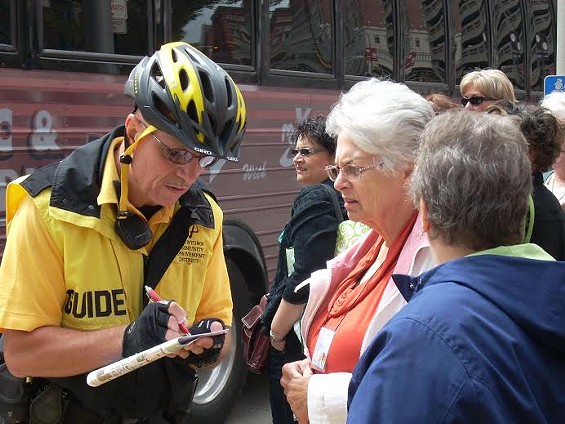 FYI, a downtown guide will escort you to your car for free. - DOWNTOWN ST. LOUIS, INC.