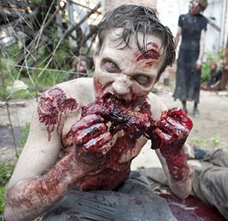 This is what we think Krokodil looks like. - GENE PAGE/AMC