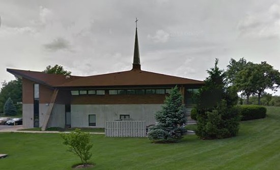 St. Alban Roe Catholic Church in Wildwood was the first parish Manning served at after he was ordained in 1997. The church also runs a school for students pre-kindergarten to 8th grade. - GOOGLE STREET VIEW