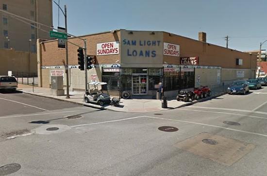 Sam Light Loans. - VIA GOOGLE MAPS