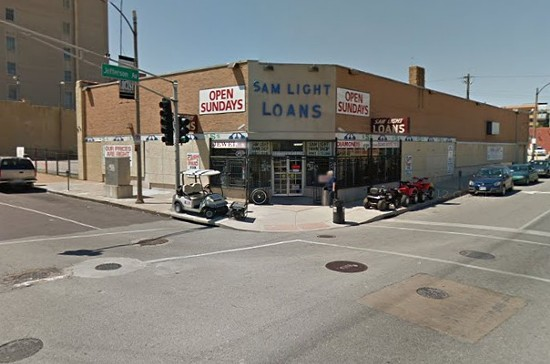 Sam Light Loans. - VIA GOOGLE MAPS