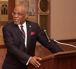 County Executive Charlie Dooley will ask for $250,000 for a bigger lab. - VIA