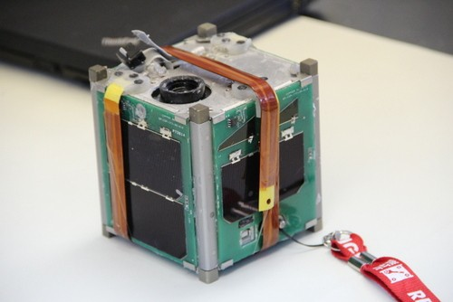 COPPER, a spacecraft built by Saint Louis University students to test infrared cameras in space. - SLU