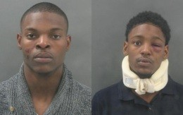 Leland Hughes (left) and Shawn T. Borders (right)
