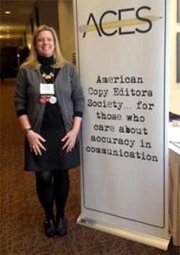 Teresa Schmedding, the president of ACES. - KRISTIE MCCLANAHAN