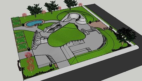 The Kingshighway Vigilante Transitions hope to break ground on the Peter Mathews Memorial Skate Park next week. - KHVT