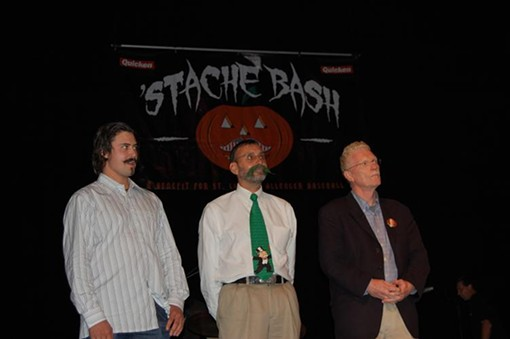 Finalists for the Robert Goulet Mustache American of the Year included: Arizona Diamondback pitcher Clay Zavada, professor Dr. John Yuetter, and CBS News reporter Bill Geist