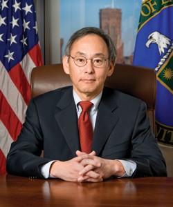 U.S. Secretary of Energy Steven Chu. Does this look like a face that could launch a thousand student protests? - IMAGE SOURCE
