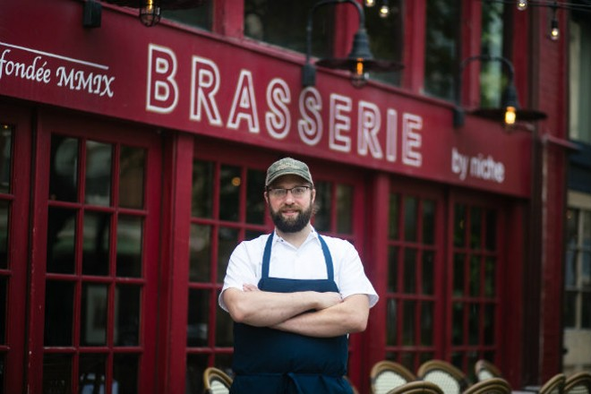 Alex Feldmeier shares his passion for French cuisine at Brasserie. - JEN WEST