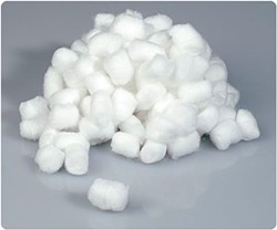 Eeek! Cotton balls!