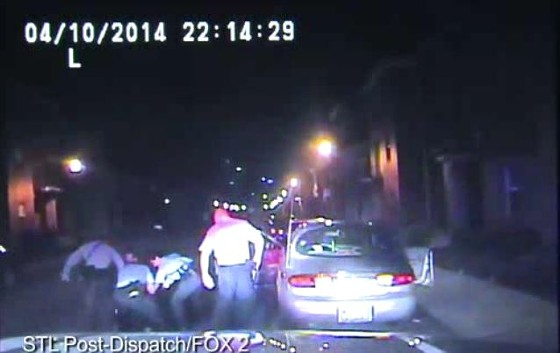 St. Louis cops beat a man during a traffic stop in April -- but they didn't want the camera on. - POST-DISPATCH, FOX 2