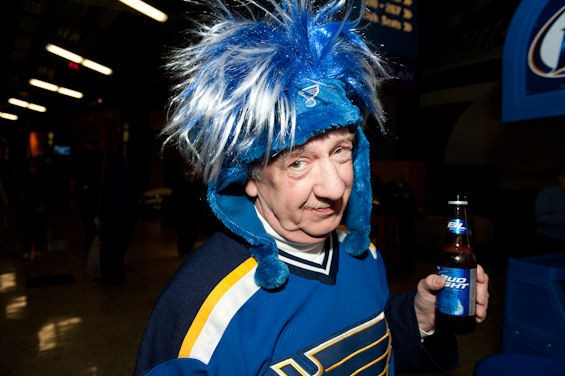 Kenny Pfeffer of St. Jacob, Illinois, is one of our favorite Blues fans ever. Here's why. - JON GITCHOFF
