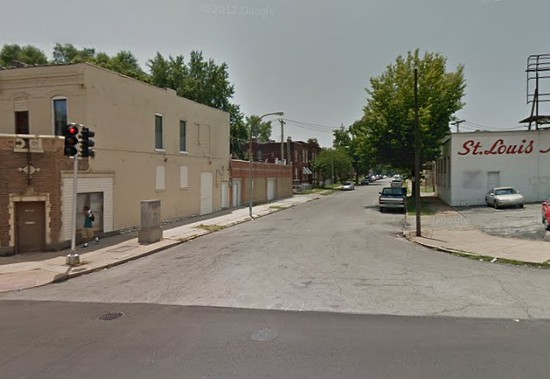 Tennessee Avenue, the block where the three were found dead this morning. - VIA GOOGLE MAPS