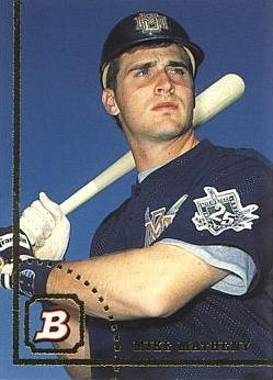 Matheny as a rookie back in 1994.