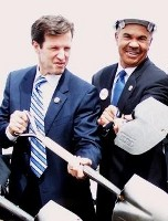 Carnahan (with Rep. William Lacy Clay Jr.) will soon be adding an axe to his tool shed.