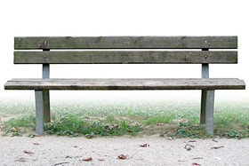 Jason Brown's new home. (Though, honestly, this bench might be a little nicer than he really deserves.)