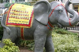 "Protest statue, ""Ella Phantzperil"" - BLOG.PETA.ORG"