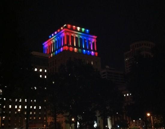 Civil Courts building in St. Louis. - VIA TWITTER