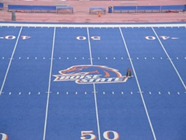 My biggest concern about Pettis is whether or not he can play football on a field not painted this colour.