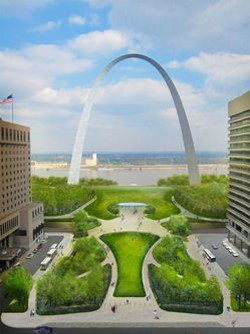 The future look of the Gateway Arch grounds - CITYARCHRIVER 2015