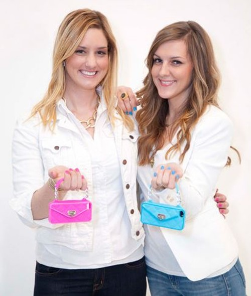Jenn Deese and Kelley Coughlan. - PURSECASE.COM