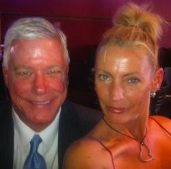The photo that started it all: Peter Kinder and Tammy Chapman.