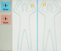 """The new """"gingerbread"""" scanners at airports. - TSA.COM"""