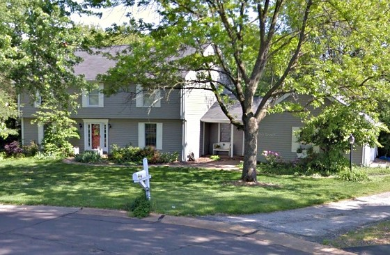 The Gunters' former Town & Country home. - GOOGLE STREET VIEW