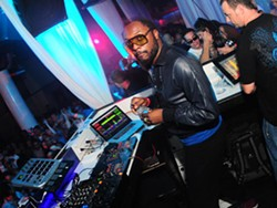 Lure played host Saturday to a Black Eyed Peas afterparty, featuring a deejay set by band member Will.i.Am.