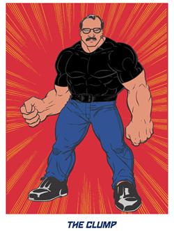 The Clump, St. Louis' own personal superhero. - ESTATELY