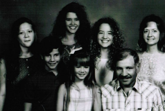 The Robinson family in 1990. - COURTESY OF ROBINSON FAMILY.