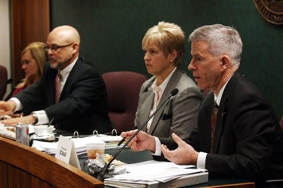 State Senator Rob Schaaf, right - VIA FACEBOOK